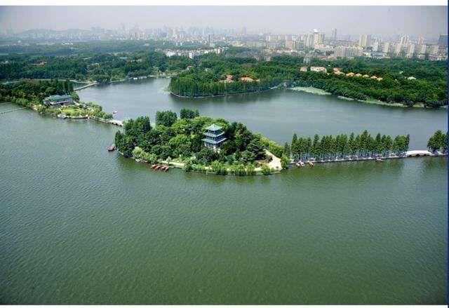 武汉家乡风景画画