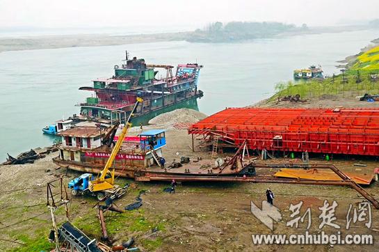 湖北启动河道采砂管理联合执法推进长江大保护