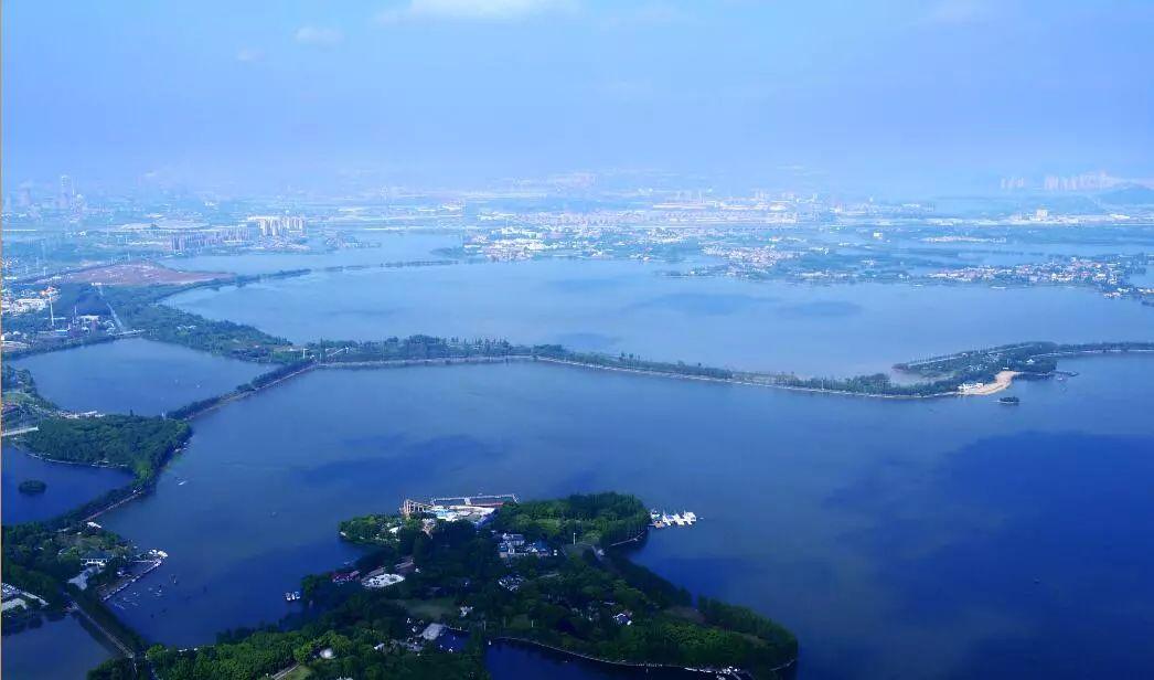 """武汉打造世界级城中湖典范 开启""""大湖+""""生态绿城新时代"""