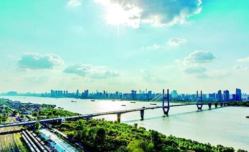 23年前的今天,武汉长江二桥建成通车 江城从此告别三镇交通一线牵