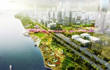 汉口滨江国际商务区 江岸高标准打造长江主轴璀璨明珠