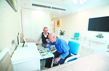 华中最大养老PPP项目开放入住 设计床位1200余张24小时健康监护