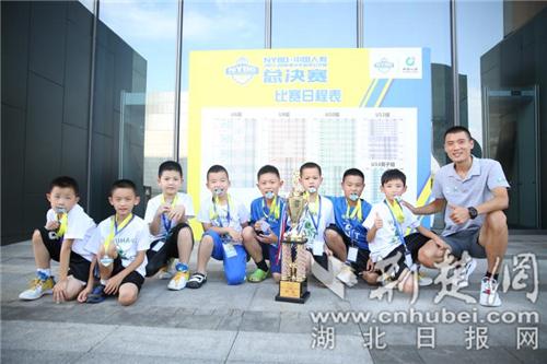 少年逐梦 8岁武汉伢们勇夺全国青少年篮球公开赛季军