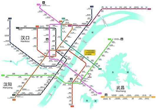 武汉地铁7号线11号线今日9时开通 长江公铁隧道同时启用