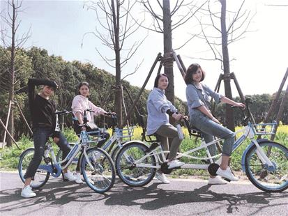 超260家景区中,湖北省宜昌及神农架风景区游客骑行量增幅达到了163.