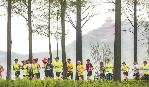 汉阳环月湖绿道本月底将动工 江城6年织就1400余公里绿道