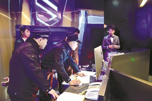 警方开展今年最大规模娱乐场所清查行动 武汉关停违法违规娱乐场所67家