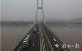 今天9点,武汉军山长江大桥正式恢复货车通行