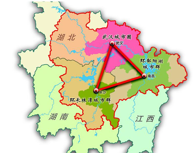 祝福中三角——写在《长江中游城市群发展规划》获批