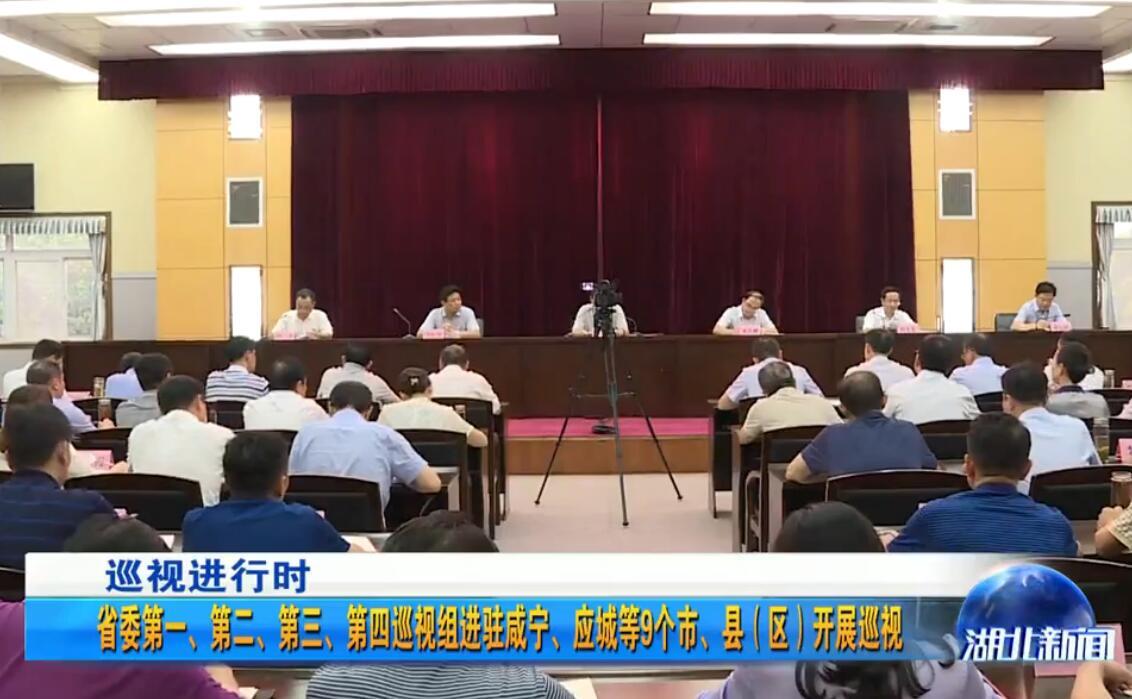 湖北省委第一、第二、第三、第四巡视组进驻咸宁、应城等9个市、县(区)开展巡视